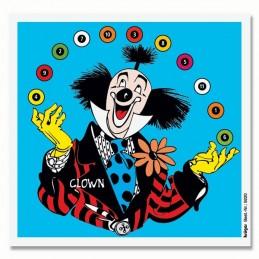 9220 - Glückscheibe Clown...