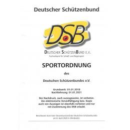 Ergänzung DSB Sportordnung...